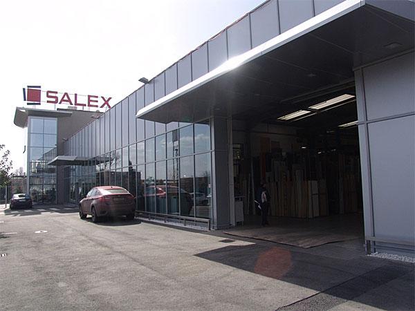 Салекс с нова търговска база в София