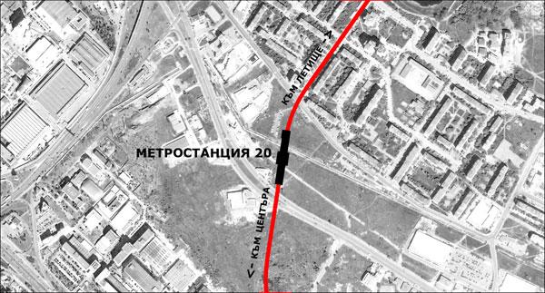 Стартира конкурсът за Метростанция 20 в София