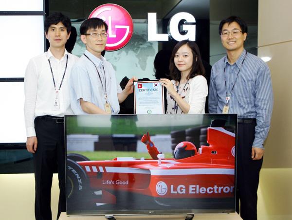 Телевизор на LG спестява 90 кг въглерод