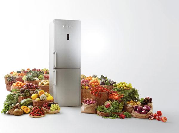 Хладилници с активен кислород от Hotpoint