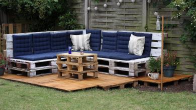 30+ градински мебели от палета