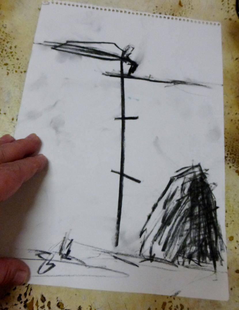 """Рисунки на Кольо Карамфилов събират артистичната бохема в """"Червената точка"""" [3/3]"""