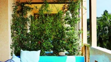 Стил и цвят за балкона
