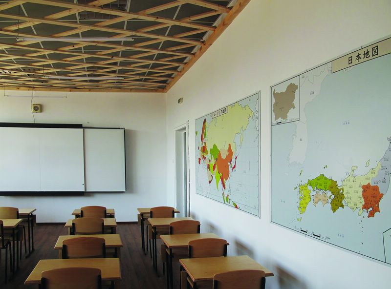 Три японски класни стаи