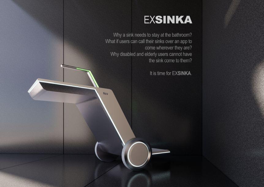 Мобилна мивка спечели световния конкурс Roca Master Design Challenge
