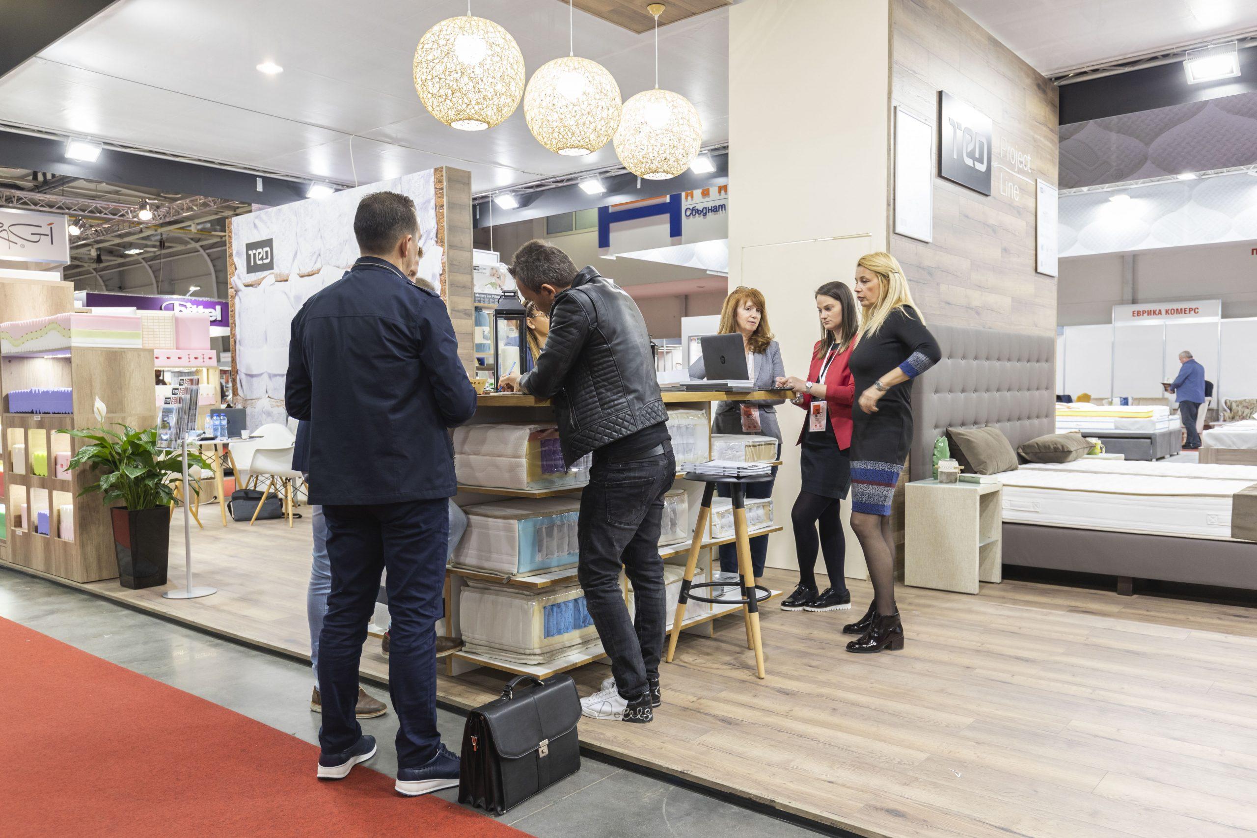Всичко за дома на изложението Светът на мебелите