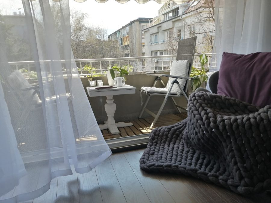 Пролетен балконинг - малките райски кътчета на нашите читатели