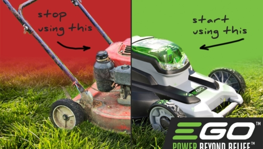 Чистите зелени инструменти на EGO POWER+
