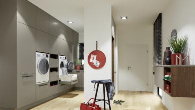 Антре в кухнята или пералня в антрето – с Nolte може да изглежда добре