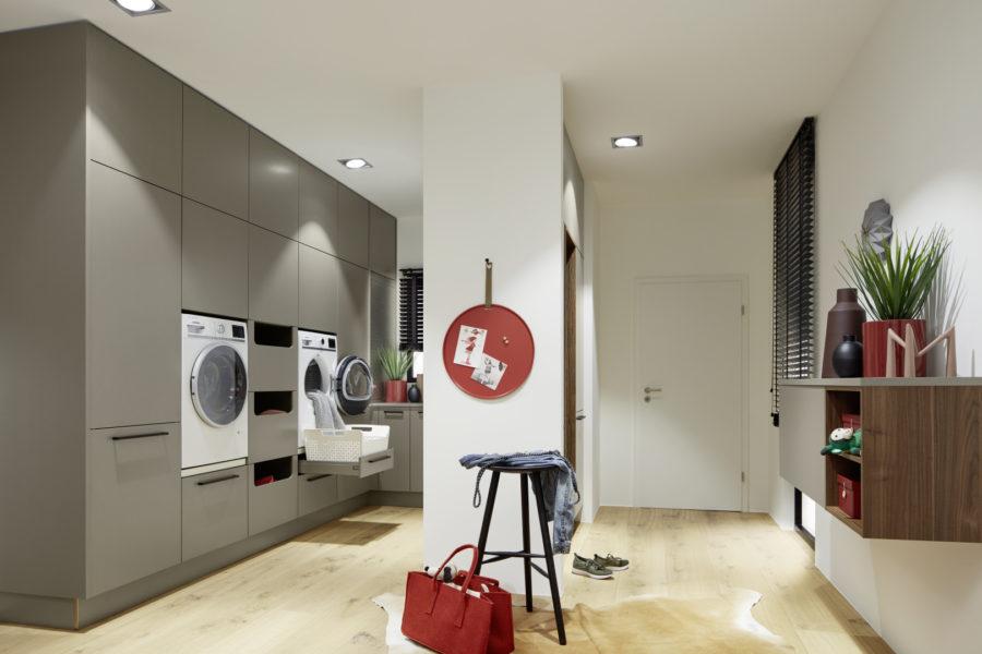 Антре в кухнята или пералня в антрето - с Nolte може да изглежда добре