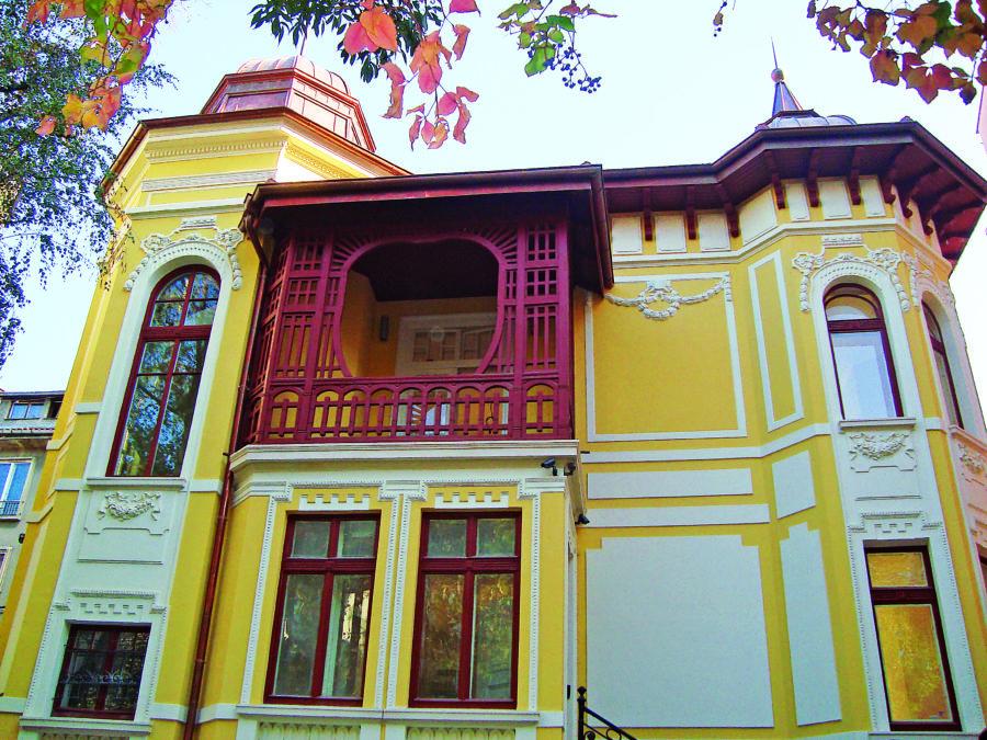 Домът на предприемача Андрей Арсов  - запазено бижу на софийския сецесион