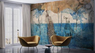 Новата колекция тапети на Walls Beyond- поетична, ефирна и пастелна
