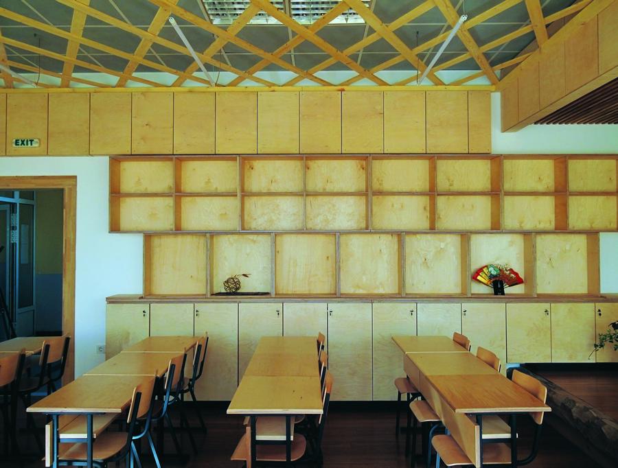 Обществено пространство 15 - Три японски класни стаи
