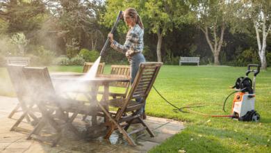 Чистота и при упорити замърсявания с водоструйките на STIHL