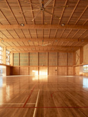 Pingelly Recreation and Cultural Centre, iredale pedersen hook architects & Advanced Timber Concepts Studio