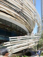 The Exchange, проект на Кенго Кума за мултифункционална сграда в Сидни