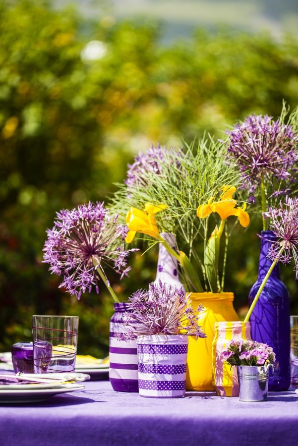 Цветовете и вкусовете на лятото