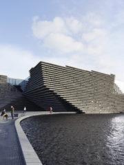 Музеят V&A Dundee в Шотландия по проект на Кенго Кума