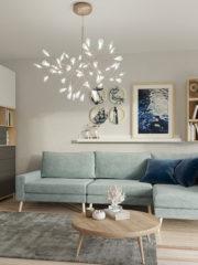 Въздействието на цветовите решения в дизайна на дома