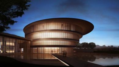 Традиционна архитектура и съвременно изкуство