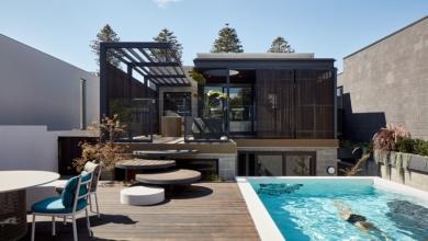 Тераса с басейн