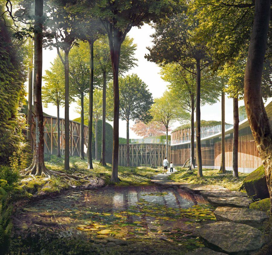 """Музеят """"Х.К. Андерсен"""", по проект на Кенго Кума, отвори врати в Дания"""