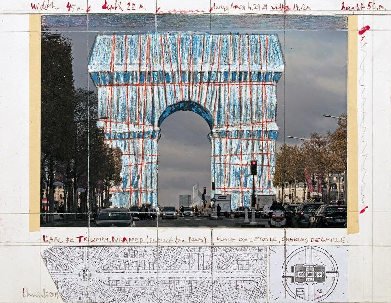 Последната инсталация по проект на Кристо ще бъде открита в Париж